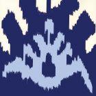 302830W-05WP KAZAK New Navy Denim Blue Quadrille Wallpaper