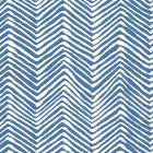 AP303-22 PETITE ZIG ZAG Pacific Blue On White Quadrille Wallpaper