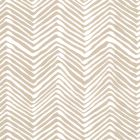 AP303-5 PETITE ZIG ZAG Sand On Almost White Quadrille Wallpaper