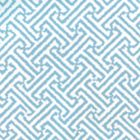 3080-25WP JAVA JAVA Aqua On White Quadrille Wallpaper