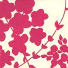 4100-11WP LYSETTE Pink,Beige Quadrille Wallpaper