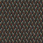 MILAGROS CHEVRON Terra Cotta Stroheim Fabric