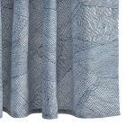 MSC003SHONA BURNETT Navy Schumacher Shower Curtain