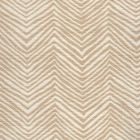 AC303-103 PETITE ZIG ZAG Beige on Tint Quadrille Fabric