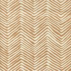 AC303-36 PETITE ZIG ZAG Camel II on Tint Quadrille Fabric