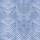 AC303-15W PETITE ZIG ZAG French Blue on White Quadrille Fabric
