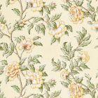 SC 000116616 16616-001 PEONIA LINEN PRINT Sunlight Scalamandre Fabric