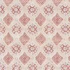 SC 0002 16626 FARRAH PRINT Coral Spice Scalamandre Fabric