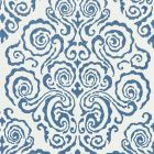 27219-002 CIRRUS VELVET DAMASK Morning Glory Scalamandre Fabric
