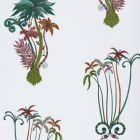 W0101/02 JUNGLE PALMS Jungle Clarke & Clarke Wallpaper