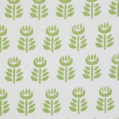 179400 ROSENBORG HAND PRINT Green Schumacher Fabric